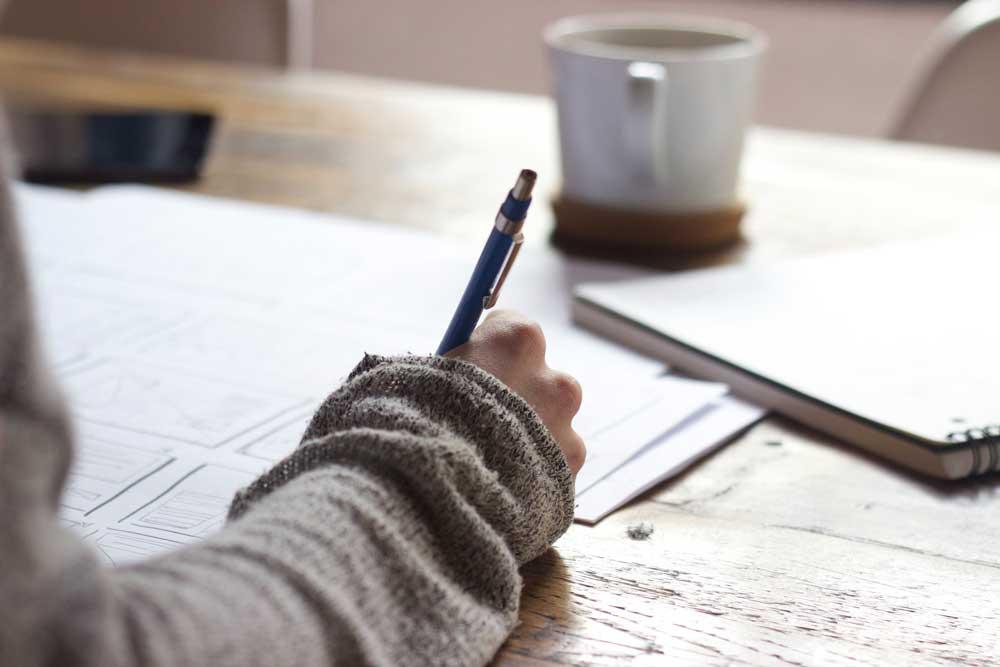 Atelier écriture cote bleue